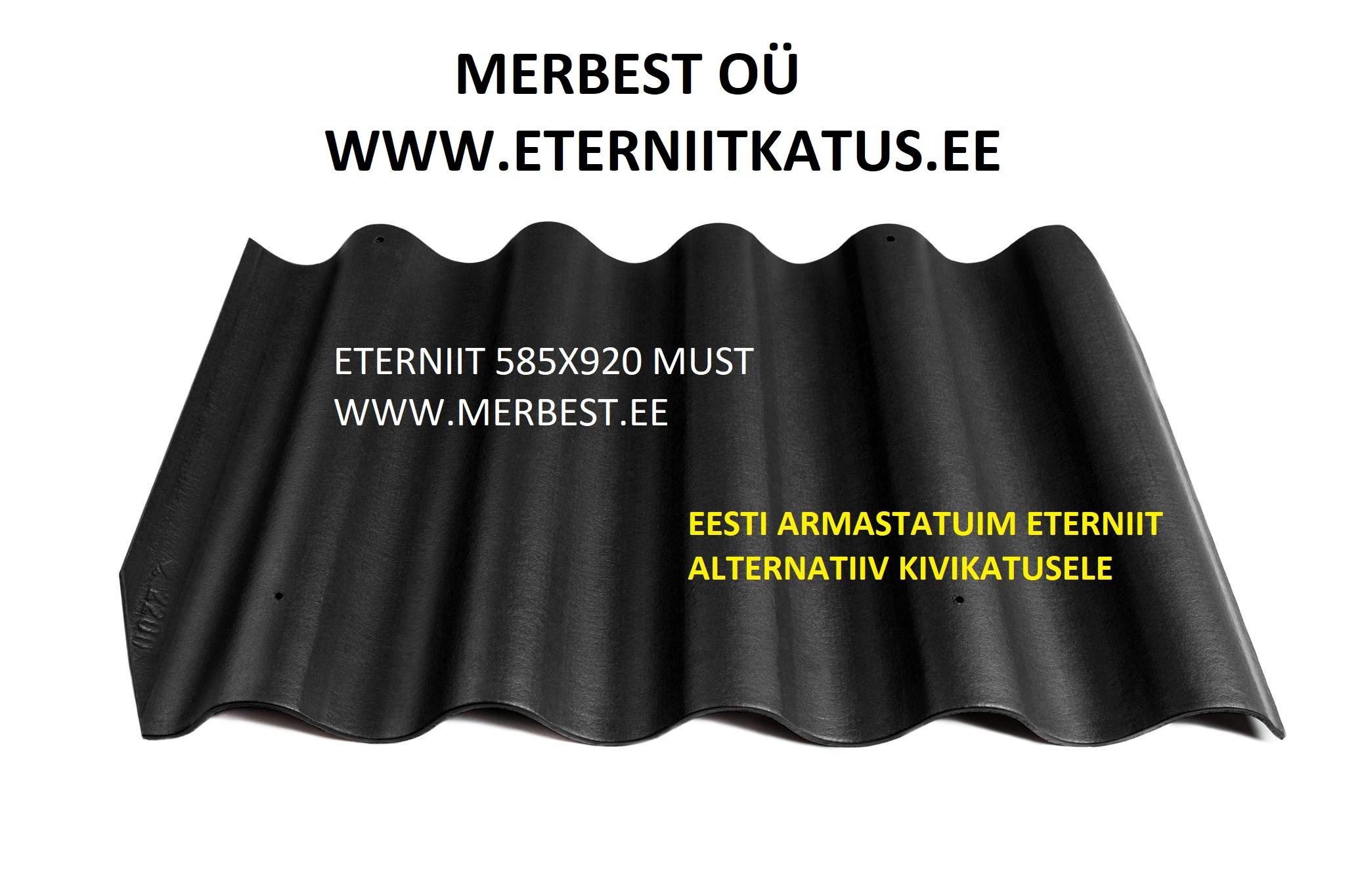 ETERNIIT GOTIKA KATUSEPLAAT 585X920 MUST